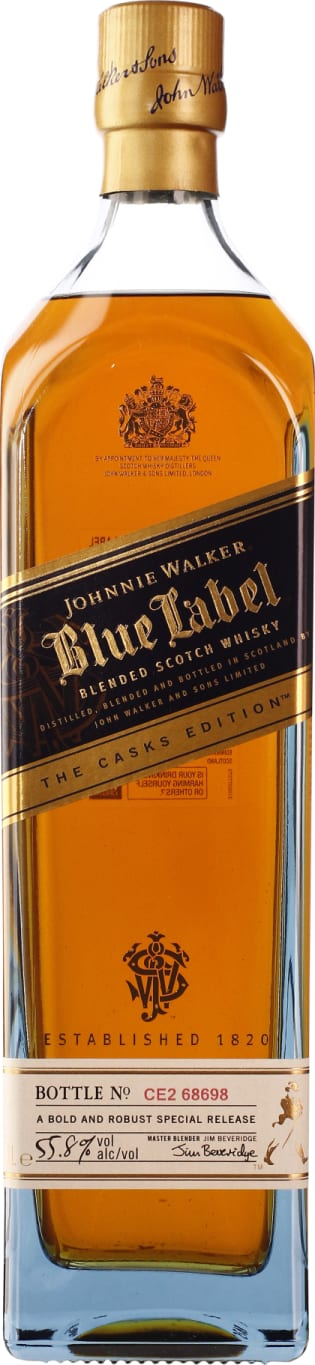 Johnnie Walker Blue Label Cask Edition 1LTR - Aristo Spirits