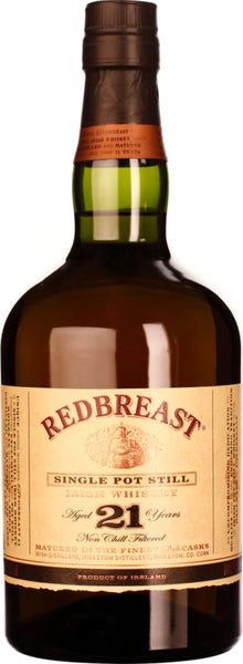 Redbreast 21 years Pot Still 70CL - Aristo Spirits