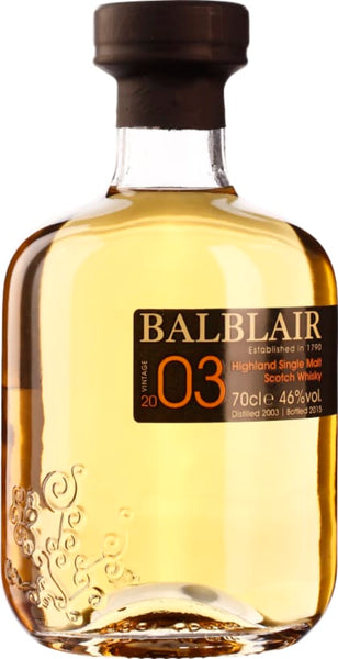 Balblair Vintage 2003 1st Release Single Malt 70CL - Aristo Spirits