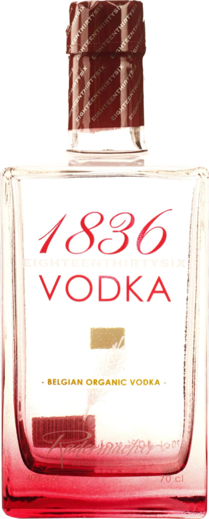 1836 Belgian Organic Vodka 70CL - Aristo Spirits