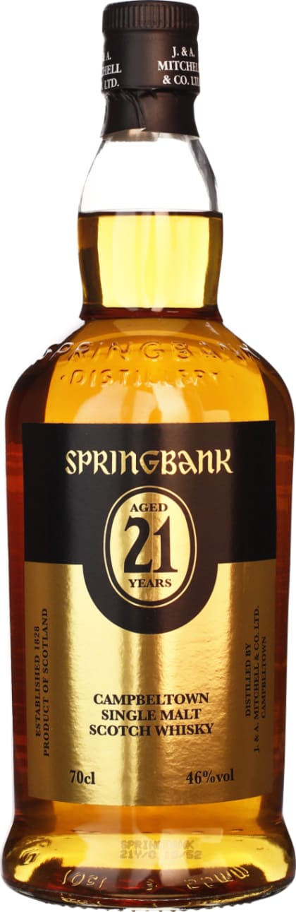 Springbank 21 years Single Malt 2012 70CL - Aristo Spirits