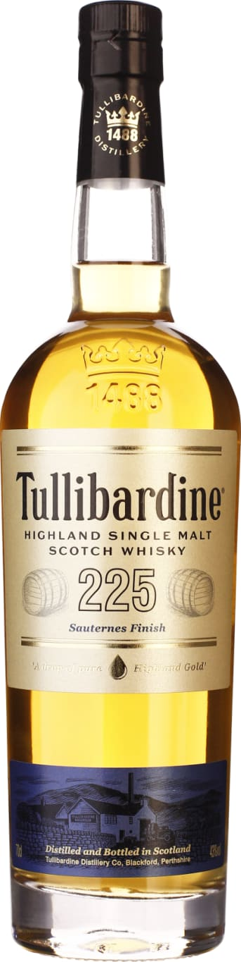 225 Tullibardine Sauternes Finish 70CL - Aristo Spirits