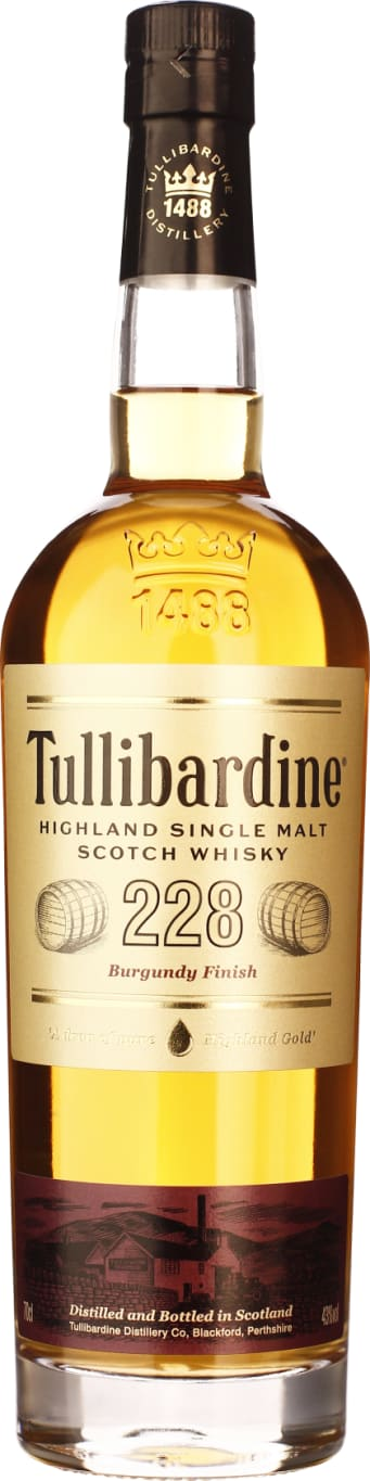 Tullibardine 228 Burgundy Finish 70CL - Aristo Spirits