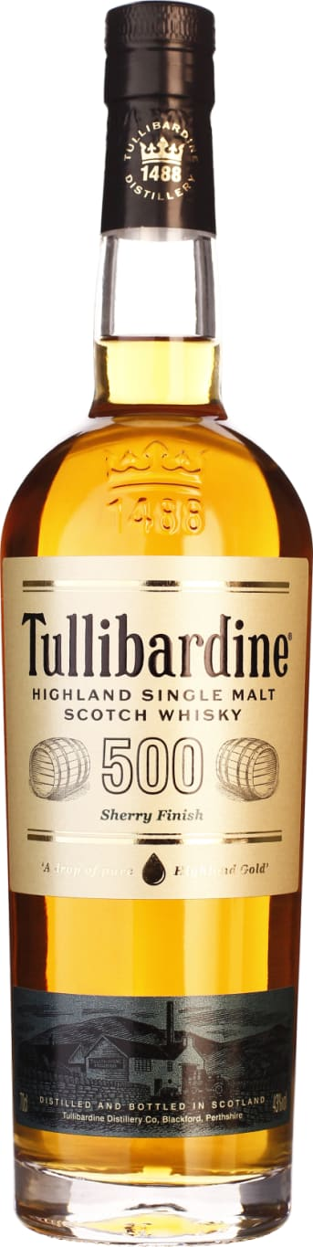 500 Tullibardine Sherry Finish 70CL - Aristo Spirits
