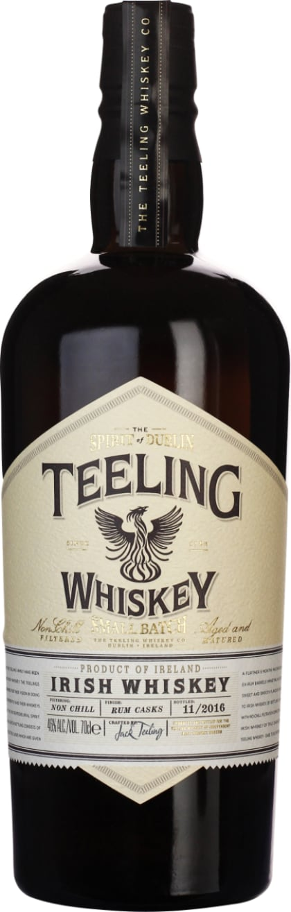 Teeling Small Batch Rum Finish 70CL - Aristo Spirits