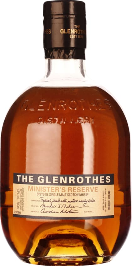 The Glenrothes Minister's Reserve 70CL - Aristo Spirits