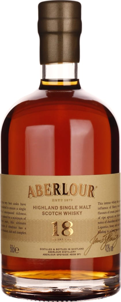 Aberlour 18 years Single Malt 50cl - Aristo Spirits