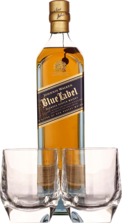 Johnnie Walker Blue Label Giftset 70CL - Aristo Spirits