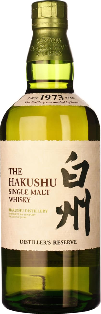 The 70CL Hakushu Distiller's Reserve - Aristo Spirits