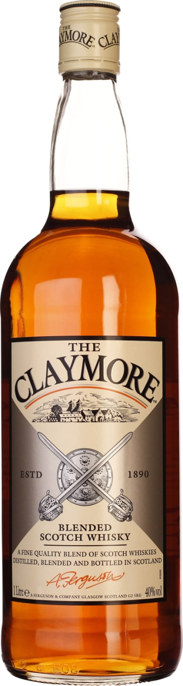 The Claymore Blended Whiskey 1LTR - Aristo Spirits