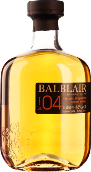 Balblair Vintage 2004 1st Release Single Malt 1LTR - Aristo Spirits