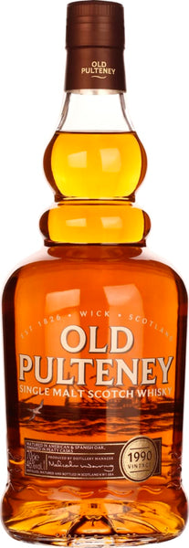 Old Pulteney Limited Edition 1990 Vintage 70CL - Aristo Spirits