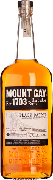 Mount Gay Black Barrel 1LTR - Aristo Spirits