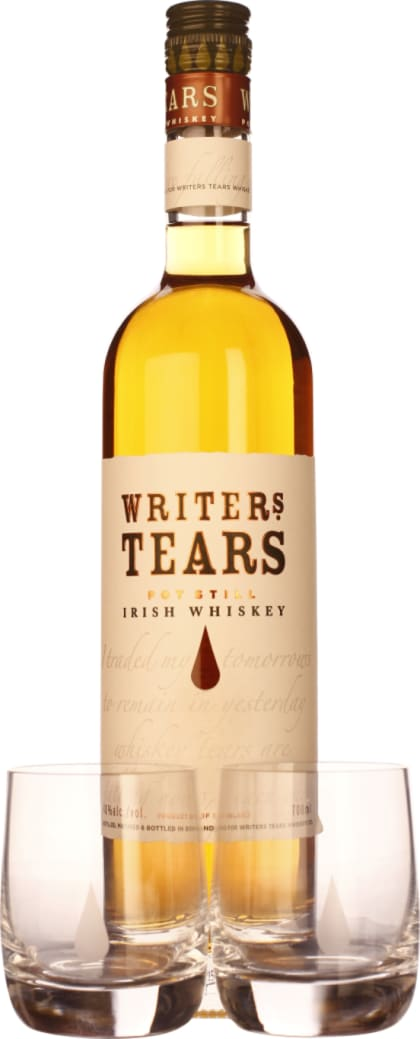 Writers Tears Pot Still Giftset 70CL - Aristo Spirits