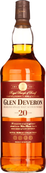 Glen Deveron 20 years Single Malt 1LTR - Aristo Spirits