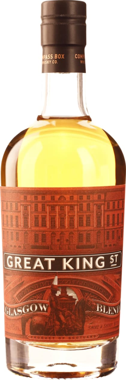 Compass Box Great King Street Glasgow 50cl - Aristo Spirits