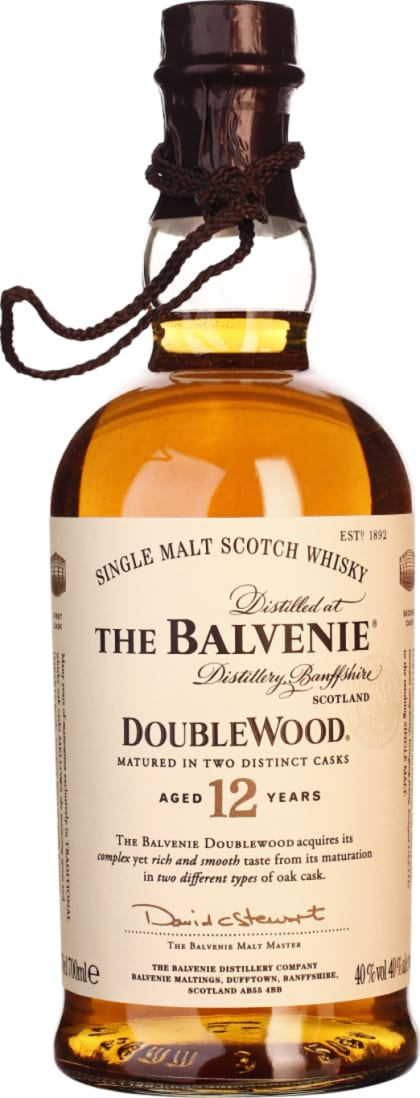 Balvenie Doublewood 12 years in Wooden Giftset 70CL - Aristo Spirits