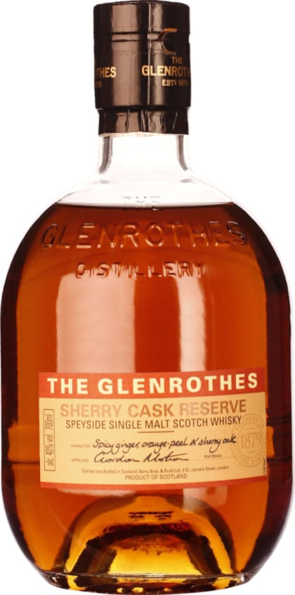 The Glenrothes Sherry Cask Reserve 70CL - Aristo Spirits