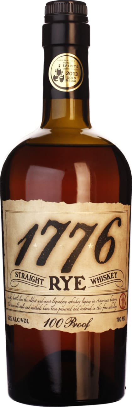 James E. Pepper 1776 Straight Rye 92 Proof 70CL - Aristo Spirits