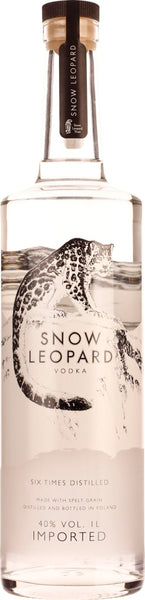 Snow Leopard Vodka 1LTR - Aristo Spirits