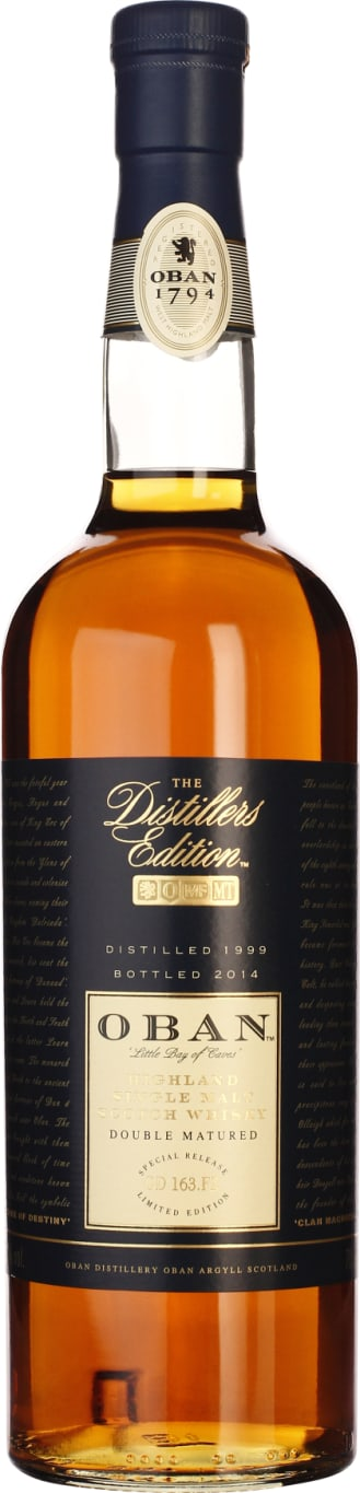 Oban Distillers Edition 1999-2014 70CL - Aristo Spirits