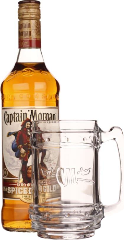 Captain Morgan Spiced Gold Giftset 70CL - Aristo Spirits
