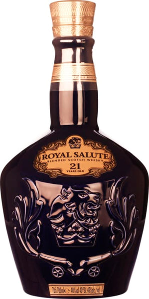 Chivas Regal 21 years Blue Royal Salute 70CL - Aristo Spirits
