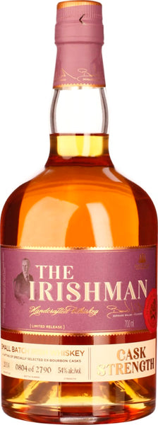 The Irishman Cask Strength 2014 Limited Release 70CL - Aristo Spirits