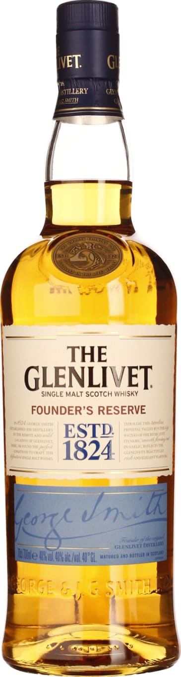 The Glenlivet Founder's Reserve 70CL - Aristo Spirits