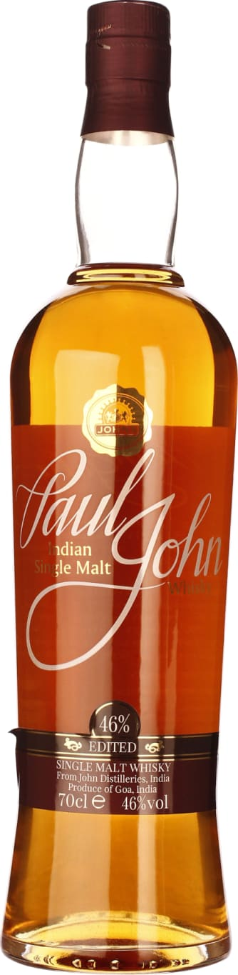 Paul John Edited Indian Single Malt 70CL - Aristo Spirits