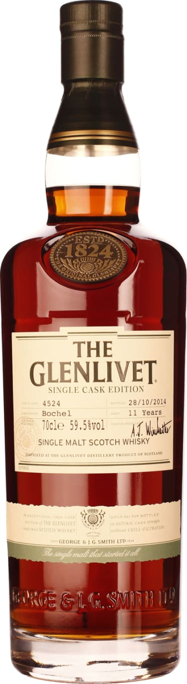 The Glenlivet hunchback 11 years Single Cask Edition 70CL - Aristo Spirits