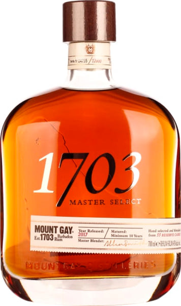 1703 Mount Gay XO Reserve Cask 70CL - Aristo Spirits
