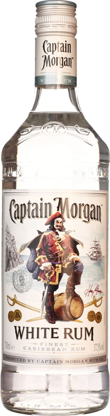 Captain Morgan Rum White 70CL - Aristo Spirits