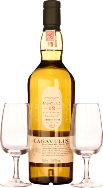 Lagavulin 12 years 2014 Coffret Classic Malts & Food 70CL - Aristo Spirits