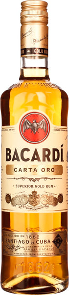 Bacardi Carta Oro 70CL - Aristo Spirits