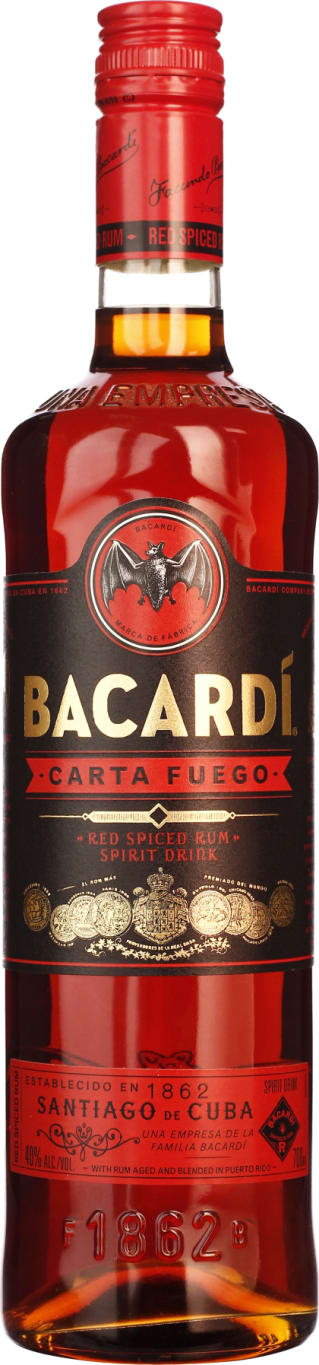 Bacardi Carta Fuego 70CL - Aristo Spirits