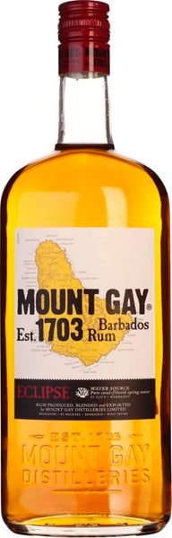 Mount Gay Eclipse Rum 1LTR - Aristo Spirits