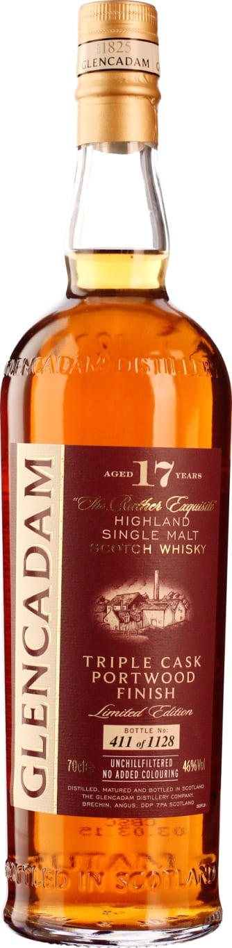 Glencadam 17 years Single Malt 70CL - Aristo Spirits