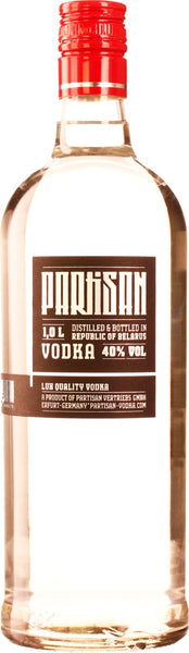 Partisan Vodka 1LTR - Aristo Spirits