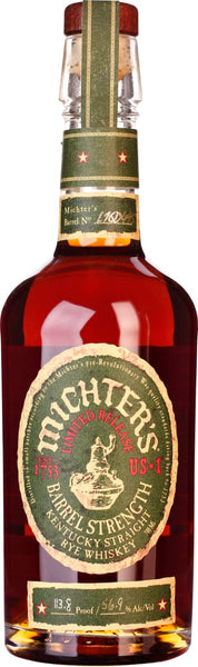 Michter's Over Proof Barrel Strength Rye 70CL - Aristo Spirits