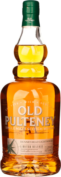 Old Pulteney Dunnet Head Lighthouse Limited Edition 1LTR - Aristo Spirits