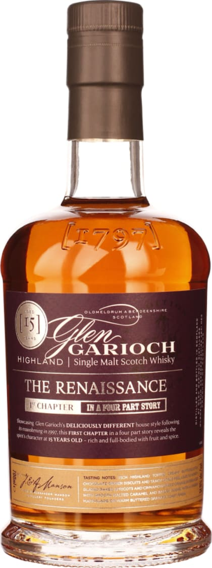 Glen Garioch 15 years Renaissance Chapter 1 70CL - Aristo Spirits