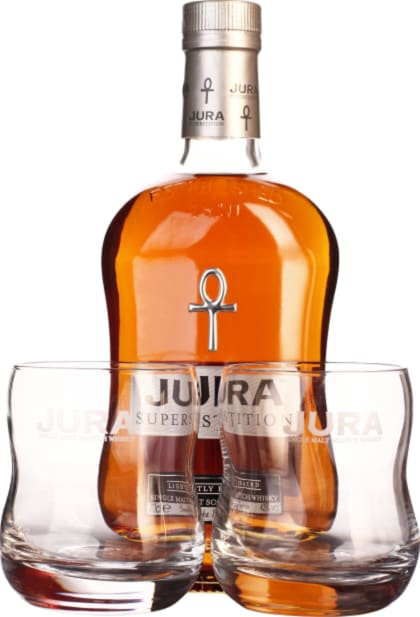 Isle of Jura Superstition Giftset 70CL - Aristo Spirits