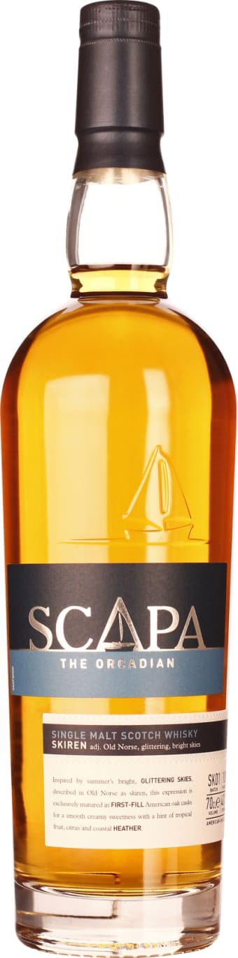The Orcadian scirii Scapa Single Malt Batch SK01 70CL - Aristo Spirits