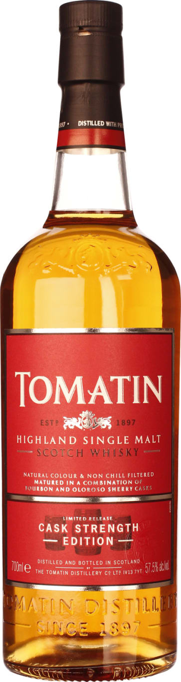 Tomatin Cask Strength 70CL - Aristo Spirits