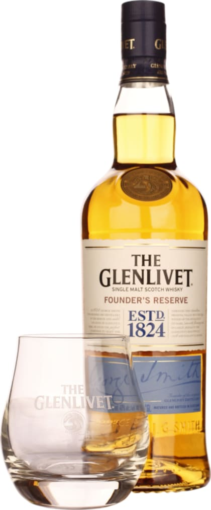 The Glenlivet Founder's Reserve Giftset 70CL - Aristo Spirits