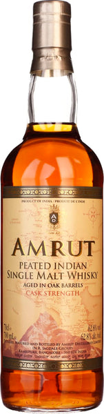 Amrut Indian Peated Cask Strength 70CL - Aristo Spirits