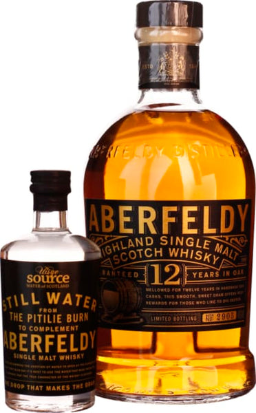 Aberfeldy 12 years Single Malt & Water From The Source 70CL - Aristo Spirits