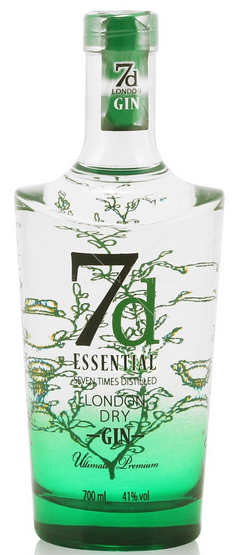 7d Essential London Dry Gin - Aristo Spirits