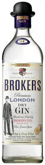 Brokers Dry Gin - Aristo Spirits